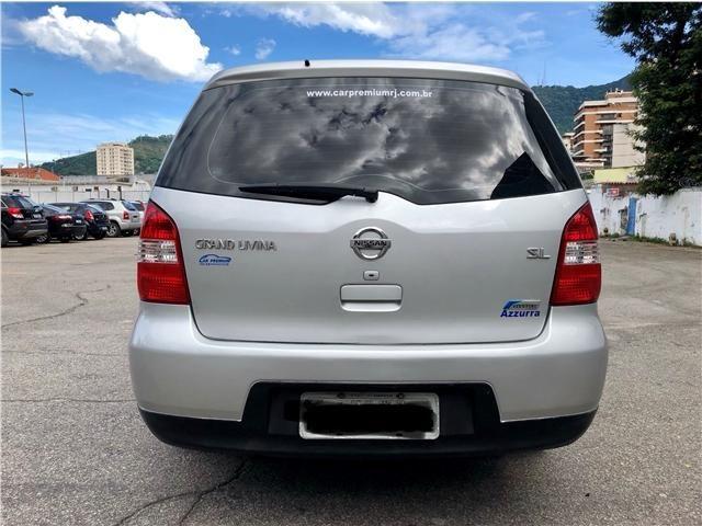 Nissan Grand livina 1.8 sl 16v flex 4p automático - Foto 6