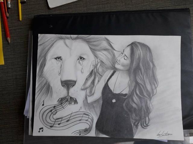 Desenho à lápis - Foto 4