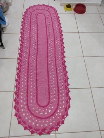 Passadeiras de crochê, grande, preços que variam de 80,00 a 100,00
