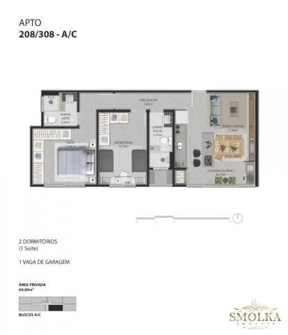 Apartamento à venda com 2 dormitórios em Ingleses do rio vermelho, Florianópolis cod:9022 - Foto 11