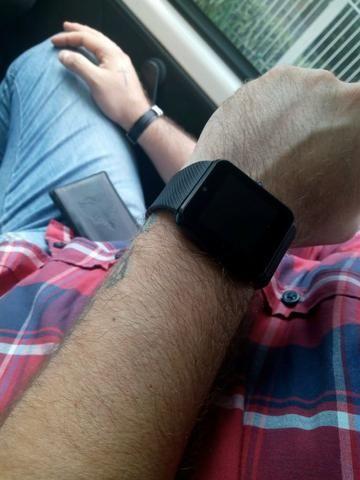 Relógio smartwatch função celular - Foto 4