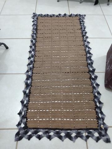 Passadeiras de crochê, grande, preços que variam de 80,00 a 100,00 - Foto 4