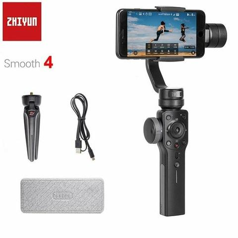 Zhiyun smooth 4 estabilizador para iphone xs xr x 8plus 8 7p 7 6s & samsung s9 s8 s7 - Foto 3