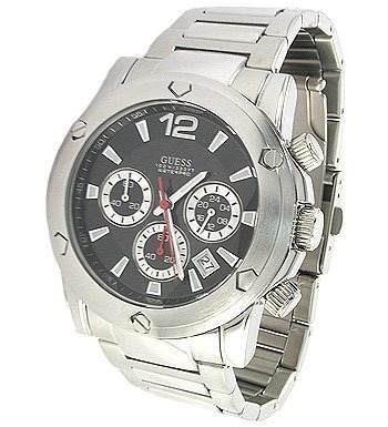 b77378965db Relógio de Pulso Guess WaterPro Masculino Prata Original - U15035G2 ...