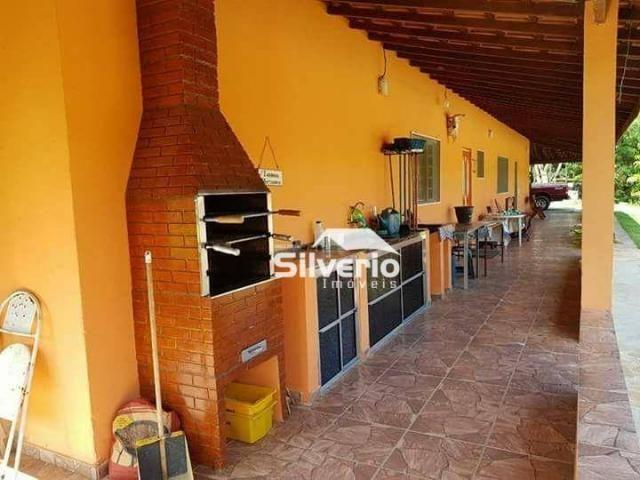 Linda chácara no varadouro 31.000m² casa sede/caseiro, piscina, pomar, 02 poços artesianos - Foto 7