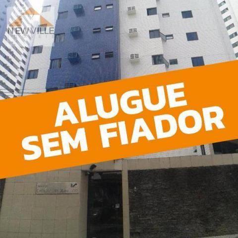 Apartamento com 3 quartos para alugar, 98 m² por R$ 3.330/mês - Boa Viagem - Recife/PE - Foto 2