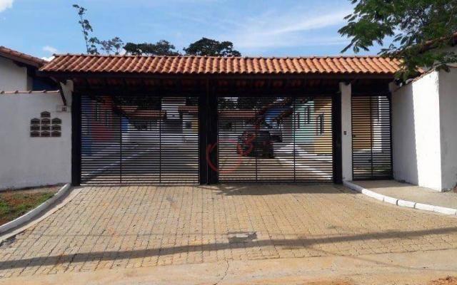 Casa nova 2 dormitorios, 1 suite, 2 vagas, piscina, em condominio Km 44 da Raposo. - Foto 19