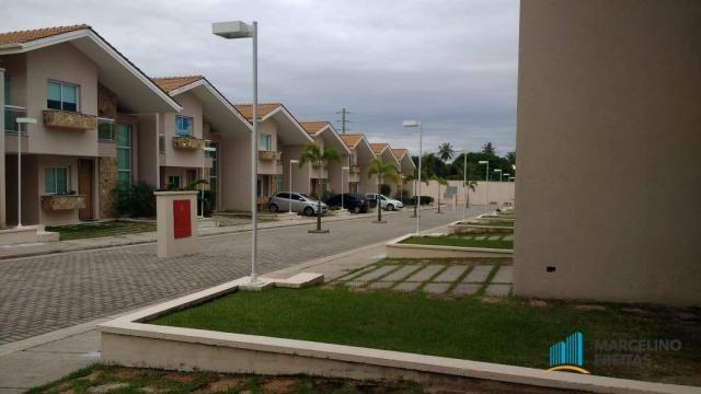 Casa com 3 dormitórios para alugar, 176 m² por R$ 2.509,00/mês - Precabura - Eusébio/CE - Foto 2