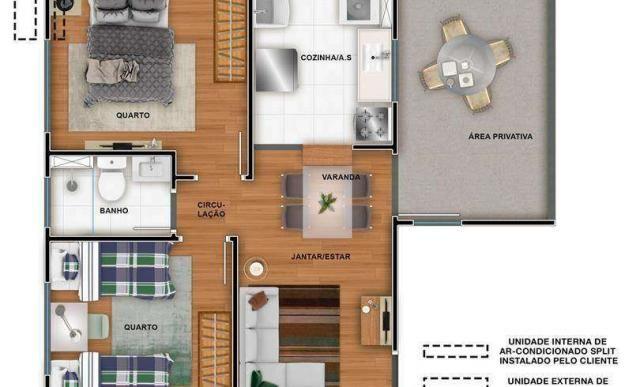 Residencial Sollare - Apartamento dois quartos em Salto, SP - 40m² - ID3948 - Foto 7