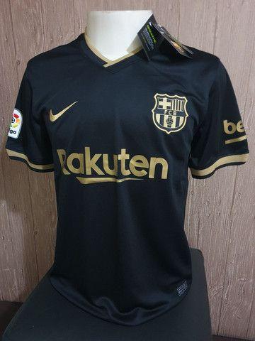 Camisa Barcelona Preta 2020 P E Gg Roupas E Calcados Jardim Novo Horizonte Maringa 826559003 Olx
