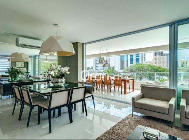 Apartamento com 5 dormitórios à venda, 382 m² por R$ 3.019.000,00 - Setor Oeste - Goiânia/ - Foto 7