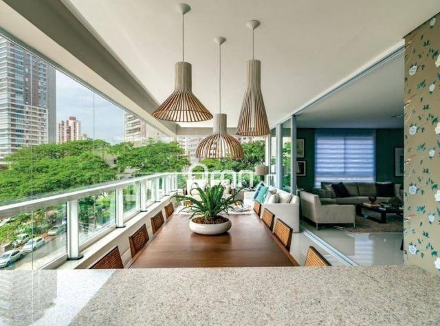 Apartamento com 5 dormitórios à venda, 382 m² por R$ 3.019.000,00 - Setor Oeste - Goiânia/ - Foto 11