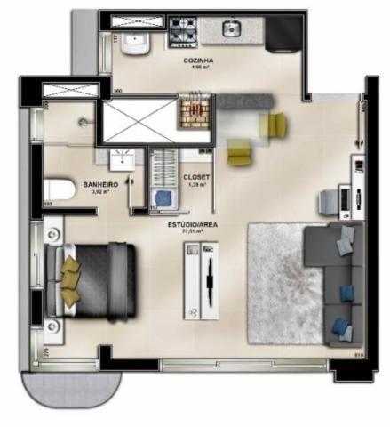 Apartamento à venda com 1 dormitórios em Jardim botânico, Porto alegre cod:EX9327 - Foto 10