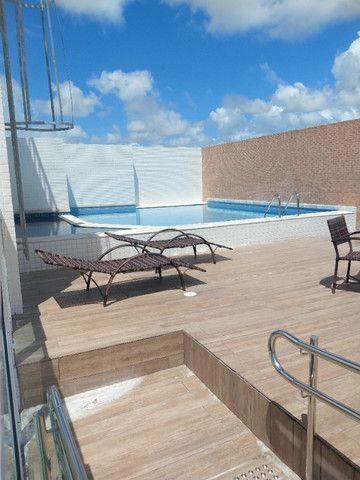 R-Lagoa do Araçá, apto. de três quartos com vista para a lagoa e terraço panorâmico - Foto 7