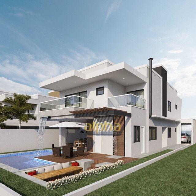 Luxuosa Casa em Condomínio Fechado - Alphaville Terras Ceará 01 - Foto 3
