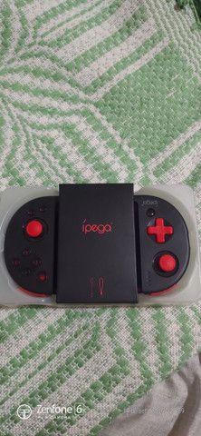 Ipega Pg -9087s Controlador Sem Fio Joystick Jogo Telescópic - Foto 2