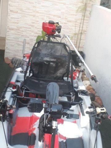 Caiaque Leader com Pedal e Motor