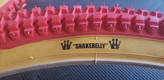 Pré venda Pneu NTKK Snakebelly aro 26 Caloi Cruiser Light  em breve aqui no Br - Foto 3
