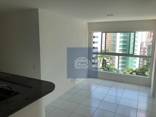 Apartamento para alugar, 48 m² por R$ 2.100,00/mês - Tamarineira - Recife/PE