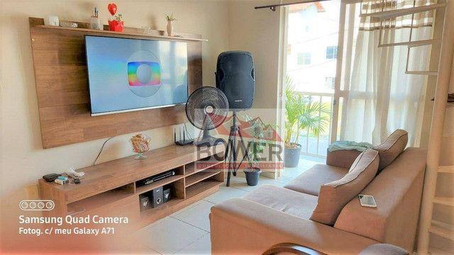 Cobertura com 3 dormitórios, 70 m² - venda por R$ 165.000,00 ou aluguel por R$ 950,00/mês  - Foto 2