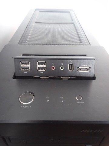 PC Gamer / Workstation SSD I5 6Mb 3.3GHz 16Gb RAM + Monitor 21,5 Full HD - Foto 2