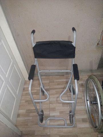 2 cadeiras de rodas novas 1000 mil reais - Foto 4