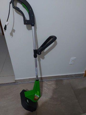 aparador de mato e grama da marca trapp  1.500 watts de potencia usado e conservado