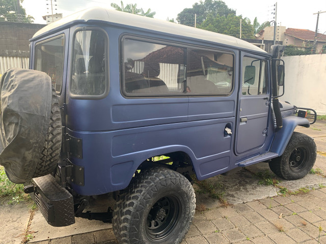 Toyota Bandeirante 1980 - Jeep Longo