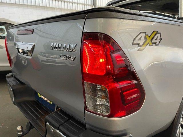 Toyota Hilux Srv Flex 4x4 2020 Garantia de Fabrica - Foto 6