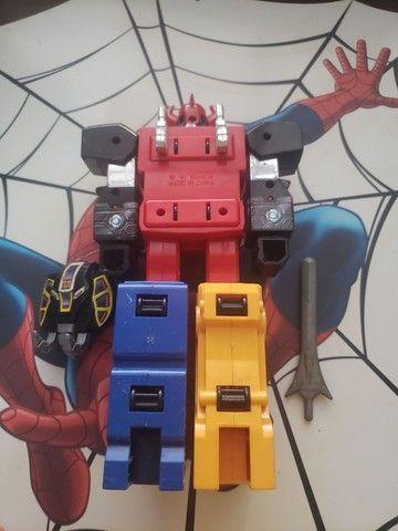 Megazord dos Power Rangers Bandai dos anos 90 - Foto 2