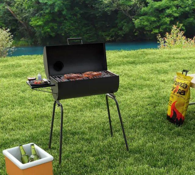 (((Promoção))) Churrasqueira a Carvão Portátil a Bafo com Grelha - Foto 5
