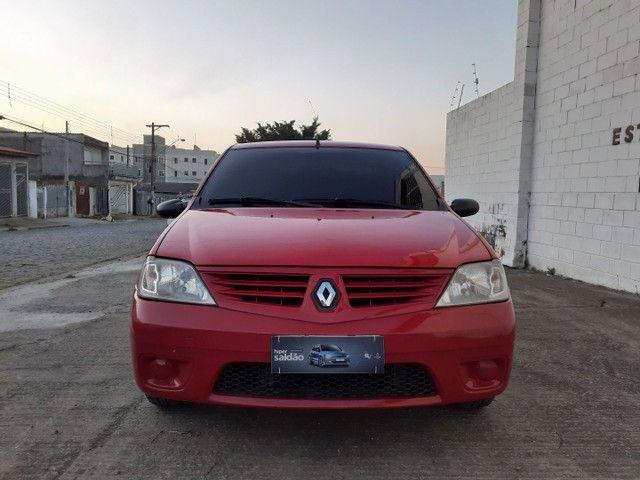 Vendo ou Troco Por Strada ou Montana Renault Logan Expression 1.0 16V - Foto 3