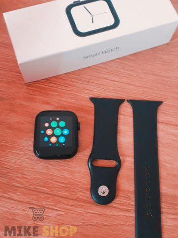 Relógio Digital Feminino Smartwatch Troca Foto Faz Ligação - Foto 4