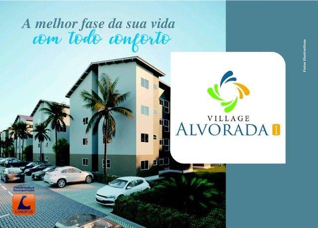 Oportunidade p/ Sair do Aluguel - Cond. Village Alvorada - Aptos c/ 2 quartos - Foto 8