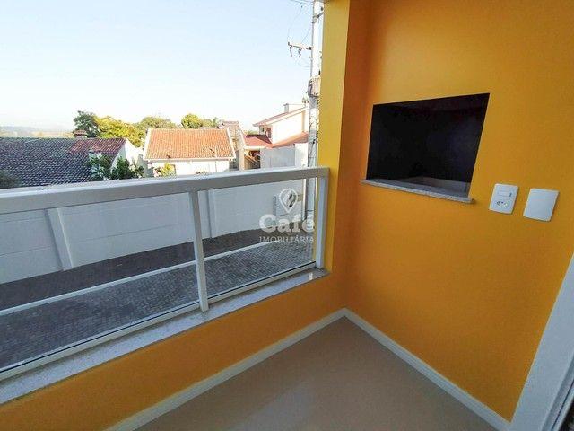 Apartamento Novo com 2 dormitórios, sacada com churrasqueira e Garagem. - Foto 7