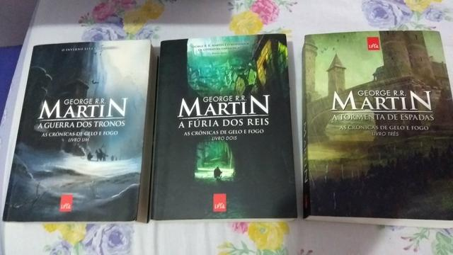 As crônicas de gelo e fogo (Game of thrones) - Livros