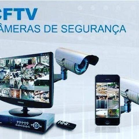 Instalação de câmeras E manutenção em cftv