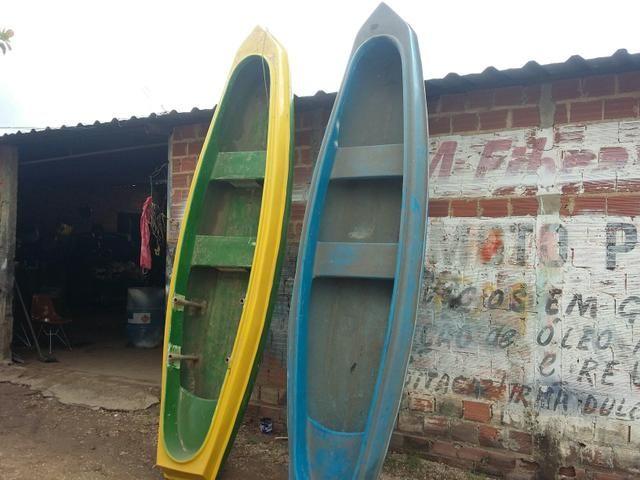 Fabricamos canoas por encomenda