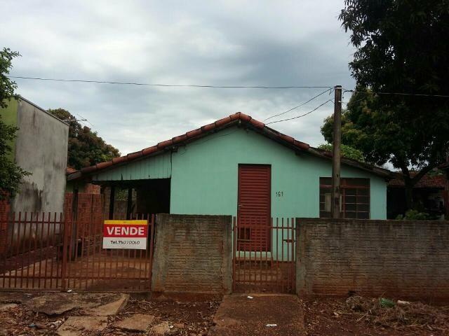 Vendo casa Jd.ÁGua Boa-Dourados