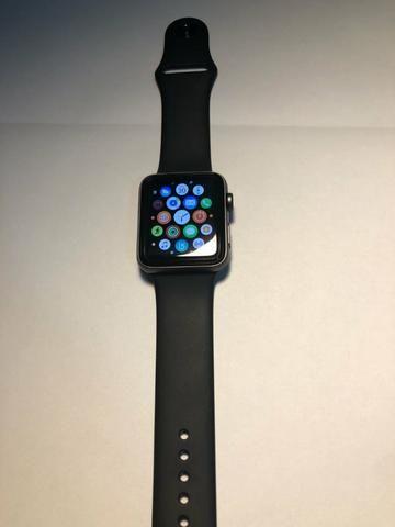 Apple Watch Series 3 42 Mm Gps + Celular Prova Dágua - NOVO