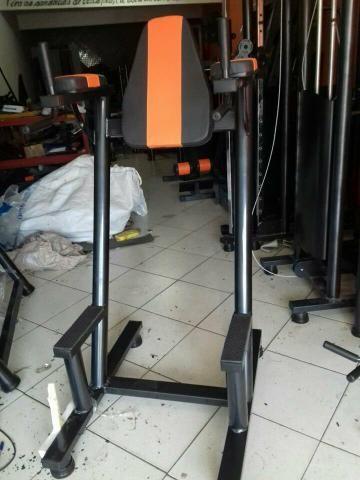 """Academia Completa - Equipamentos de Musculação Newlife Standard 3"""" Top - Foto 4"""