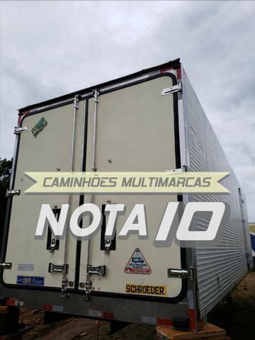 Baú Frigorífico Gancheiro Revisado 16 Paletes Para Caminhão Truck ou Bitruck - Foto 4