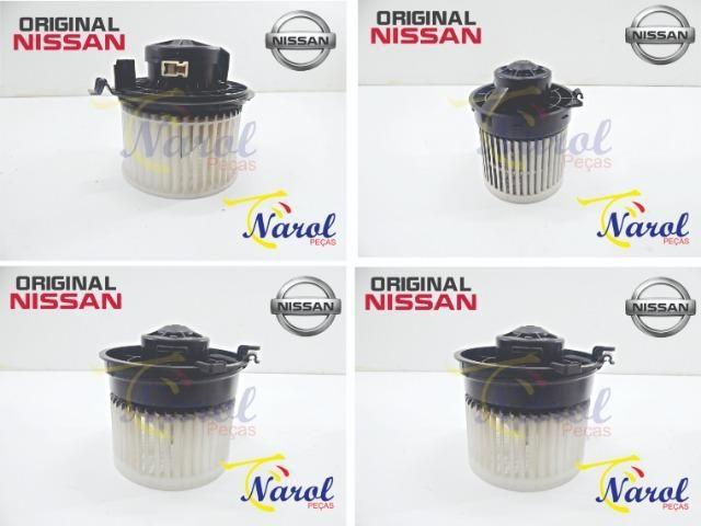 Motor Ventilador Ar Forçado Nissan March, Versa, Tiida, Livina, Sentra, Kicks