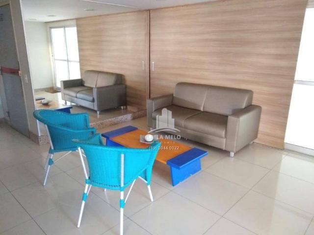 Apartamento com 3 dormitórios à venda, 53 m² próximo ao mega atacadista- cambeba - fortale - Foto 14