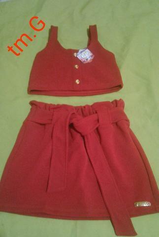 Roupas infantis feminina avista ou na promissoria - Foto 6