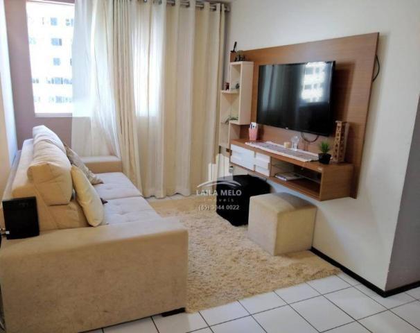 Apartamento com 3 dormitórios à venda, 53 m² próximo ao mega atacadista- cambeba - fortale - Foto 3