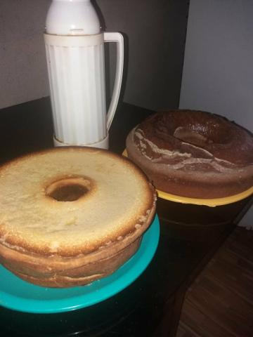 Encomendas de bolos caseiros