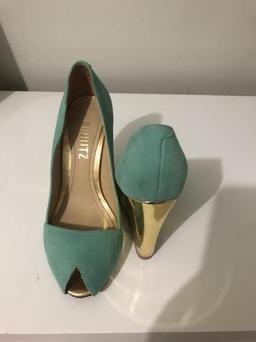 Sapato Peep Toe - Foto 2