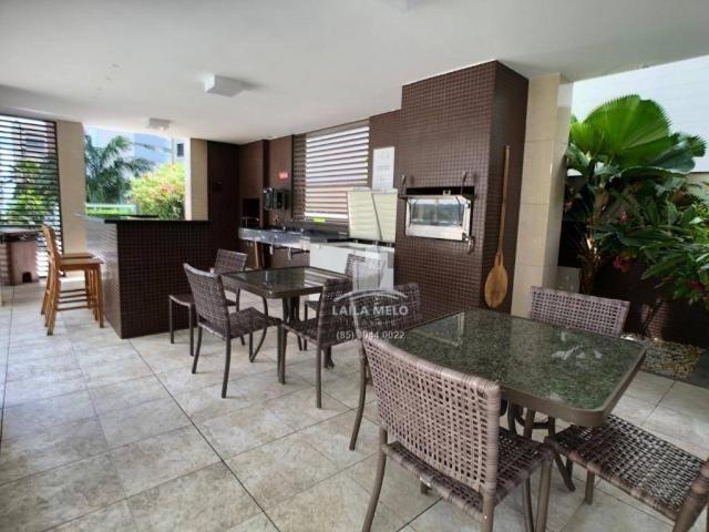 Apartamento no meireles,259 m2,4 quartos,4 vagas,lazer completo,paço do bem - Foto 11