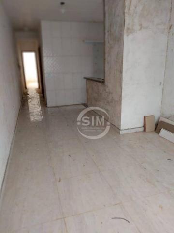 Casa com 2 dormitórios à venda, 70 m² no baixo grande - são pedro da aldeia/rj